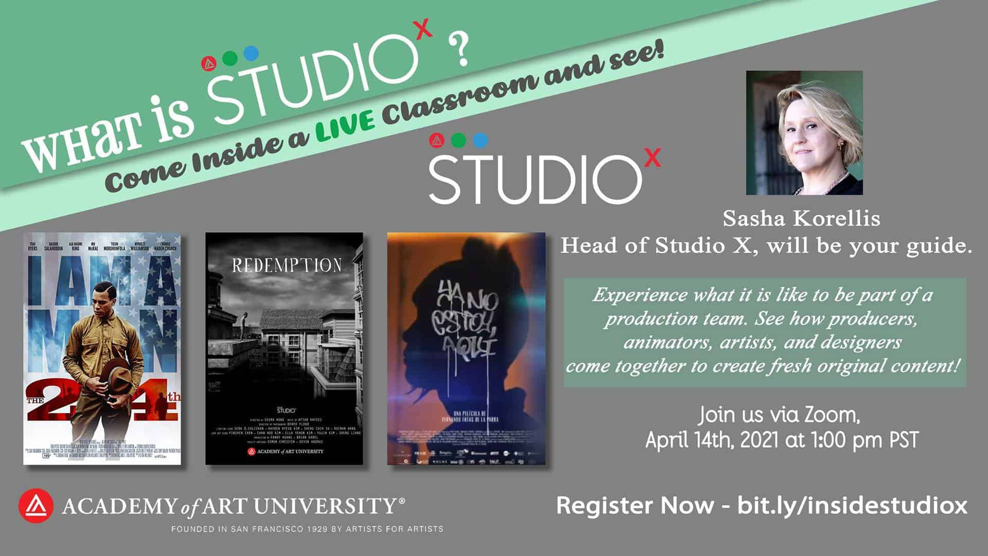 StudioX Virtual Guided Event