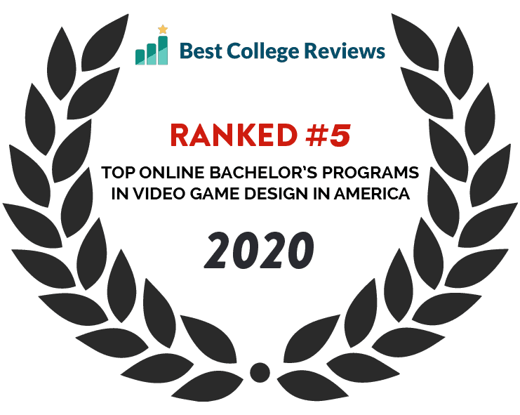 Best College Reviews #5 - Top Online Bachelor's Programs in Video Game Design in America