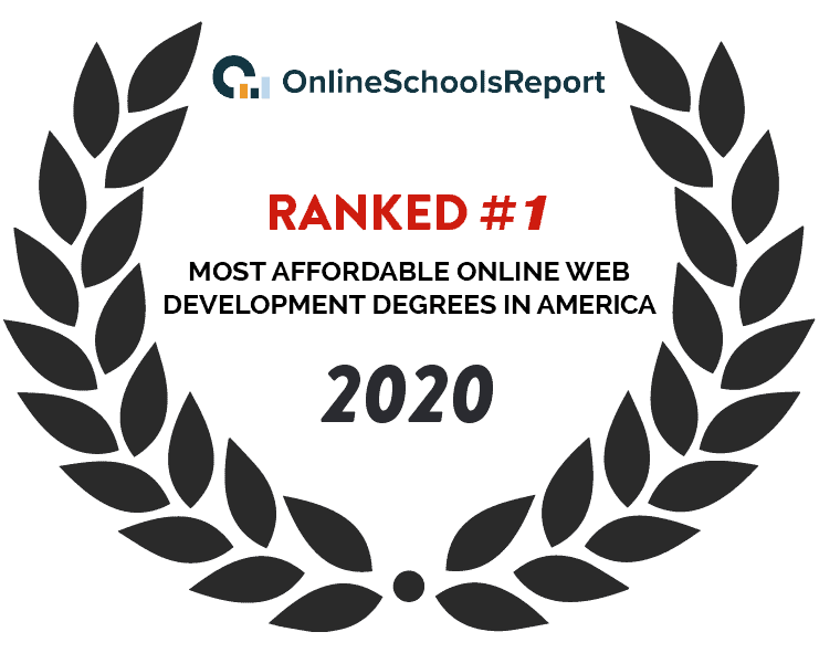 2020 Online school report - Most Affordable Online Web Development Degrees