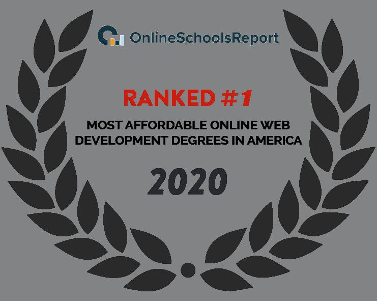 2020 Online school report - Most Affordable Online Web Development Degrees