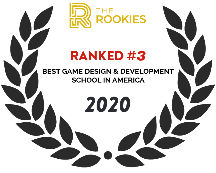 2020 The Rookies Best Game Design & Development school #3