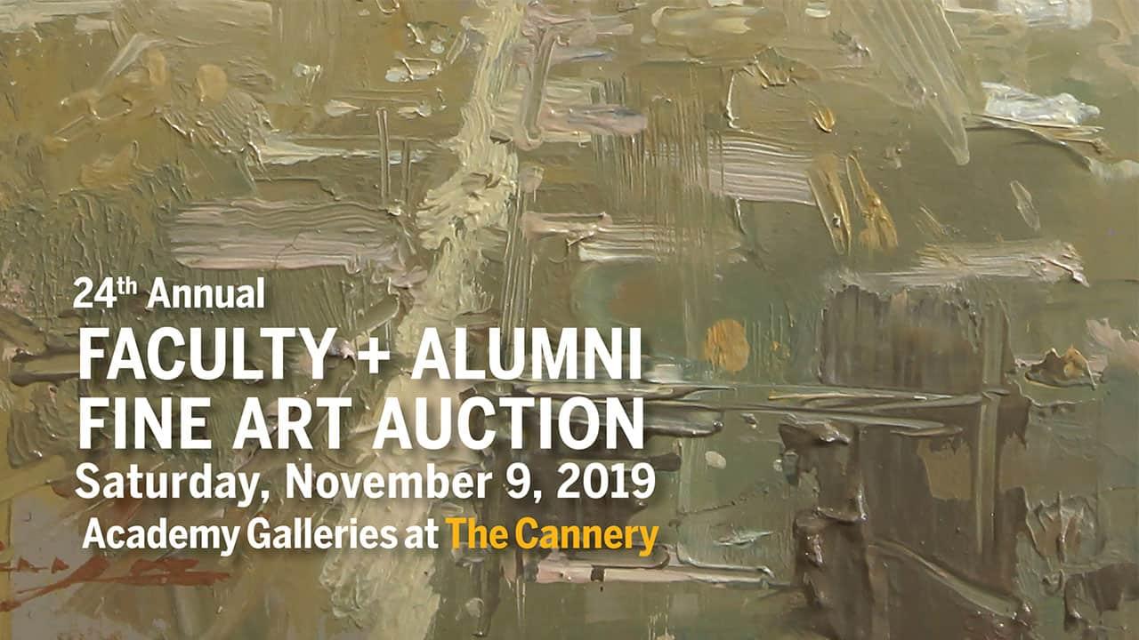 24th Annual Faculty + Alumni Fine Art Auction