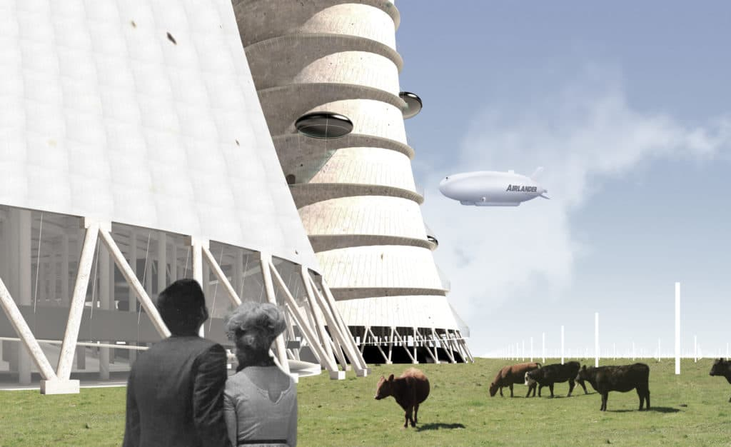 Sublimity of Horror Architecture Master Thesis by Fan Pan – M.Arch / Thesis Advisor: David Gill