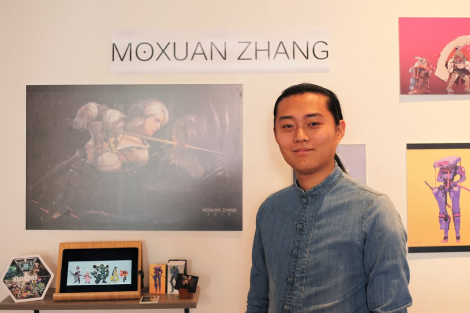 Moxuan Zhang - Game Development BFA Student