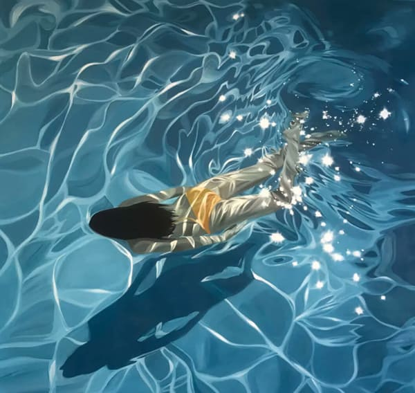 """""""74 Degrees,"""" oil on linen by Benjamin Anderson"""