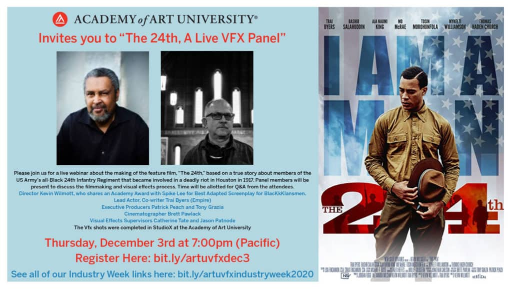 Academy of Art University's School of Animation & Visual Effects hosts an exclusive live webinar with the Oscar-winning filmmaker