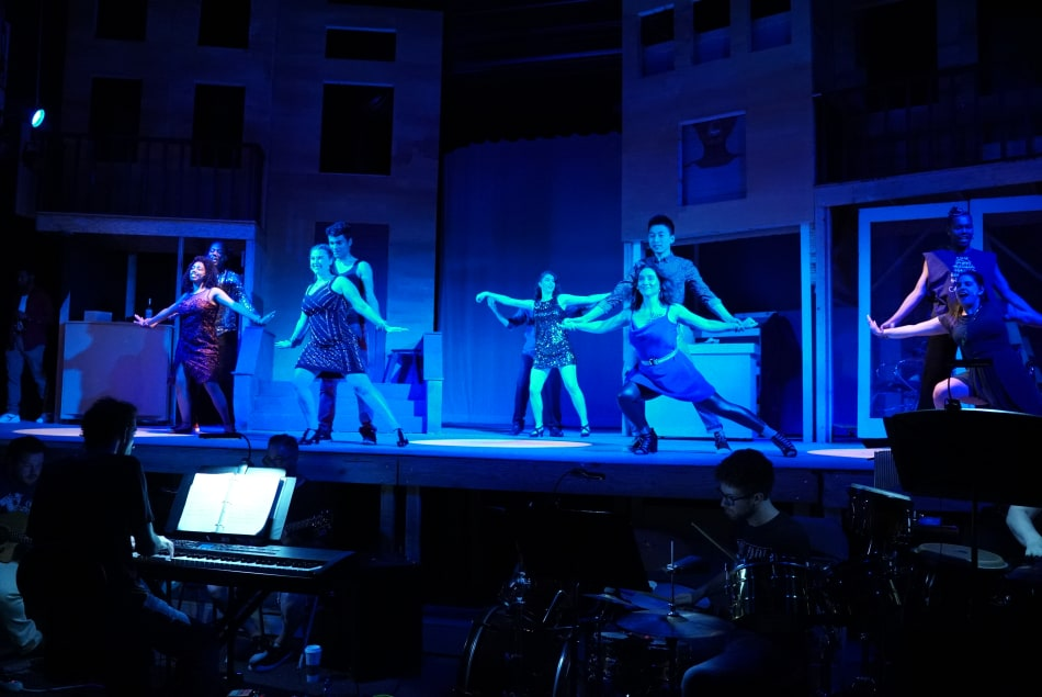 In the Heights choreography by Academy of Art