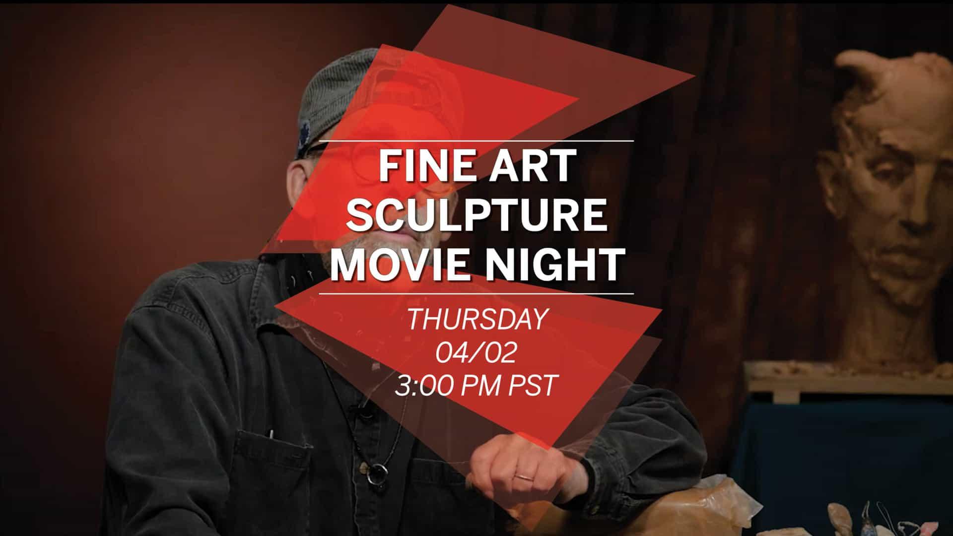School of Fine Art Sculpture: Movie Afternoon