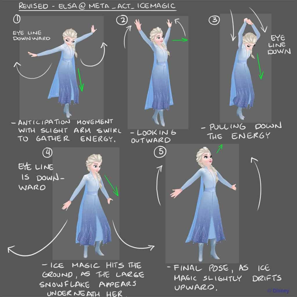 David Markowitz's Elsa for the Disney Frozen Adventures mobile game
