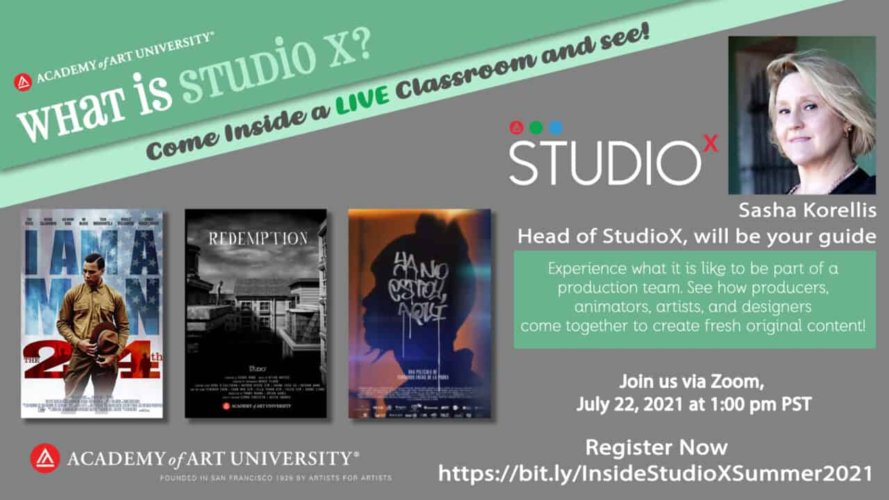StudioX Live Event and Open House