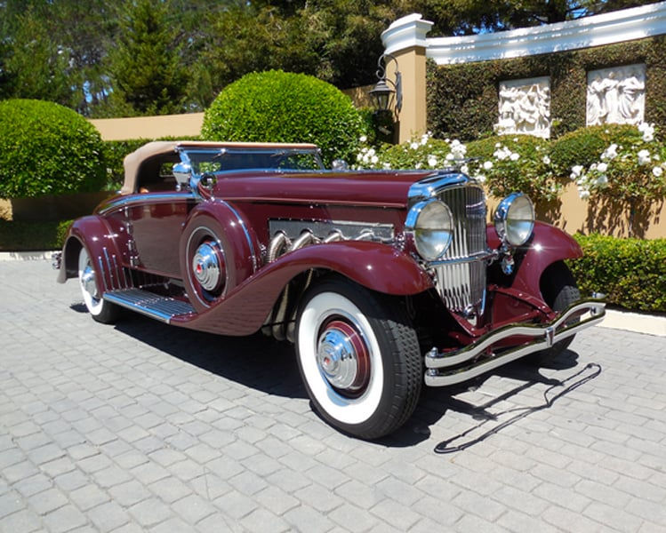 1935 Duesenberg Convertible Sedan
