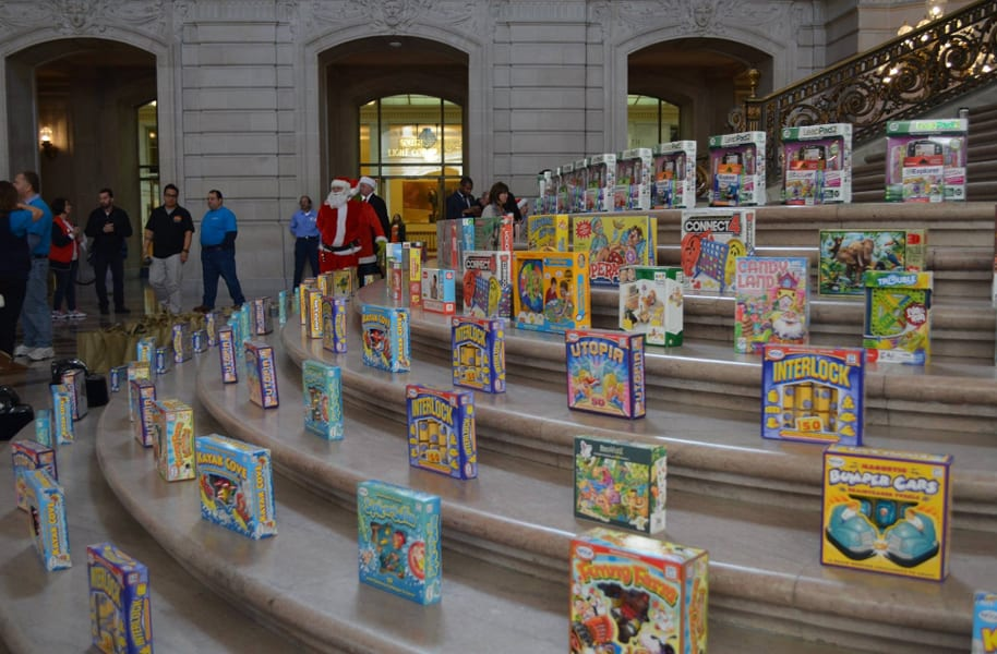 Annual Firefighters Holiday Toy Program Is Underway