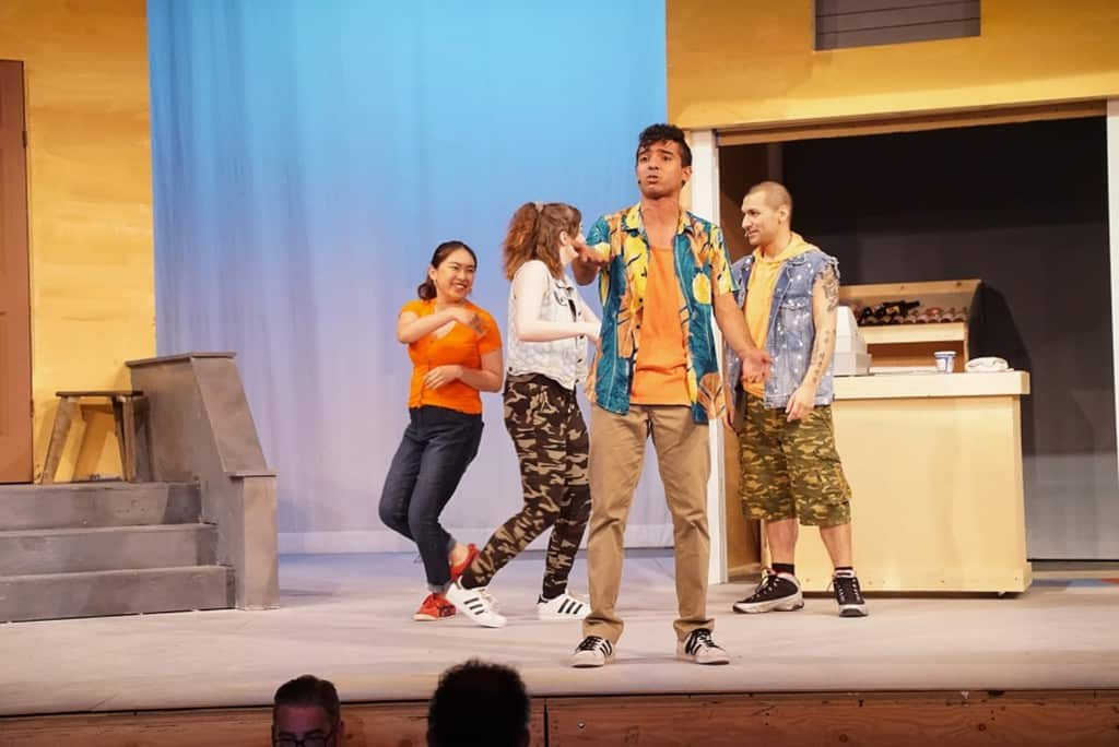 In the Heights stage by Academy of Art