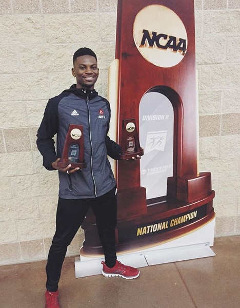 Mobolade Ajomale Is NCAA DII Track Athlete of the Year