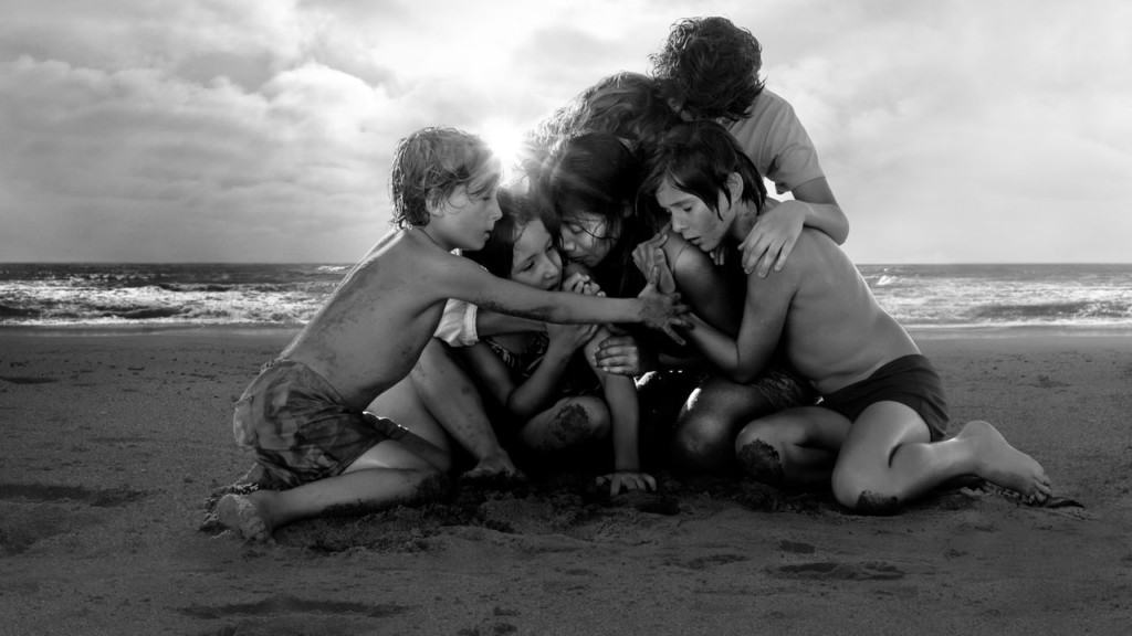 A still from Alfonso Cuaron's Roma