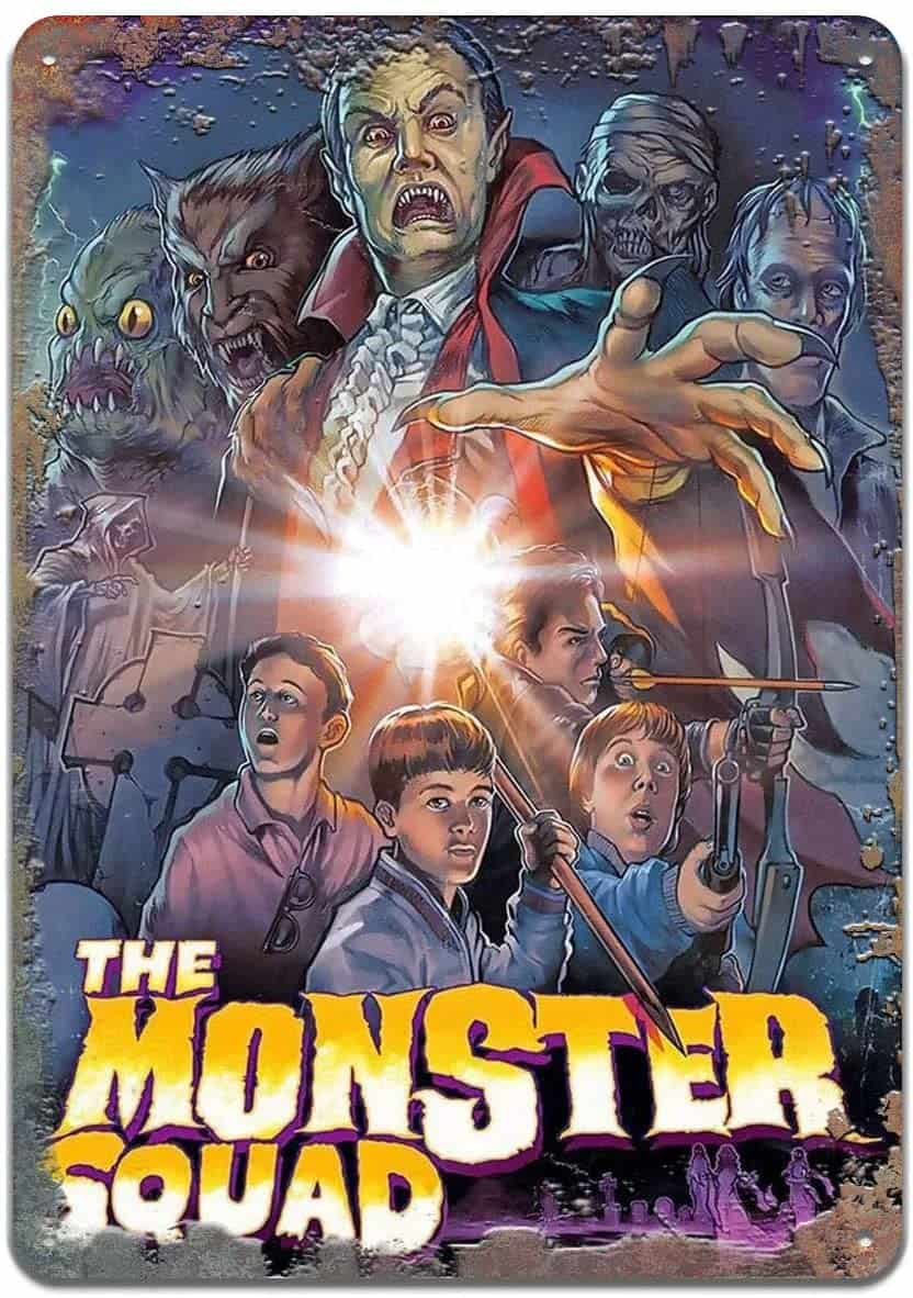 The Monster Squad Movie Poster - Craig Nelson