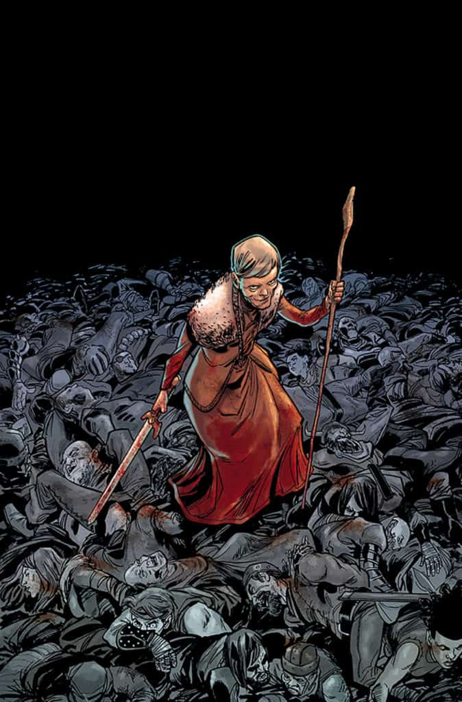 crone cover by justin greenwood colors by brad simpson