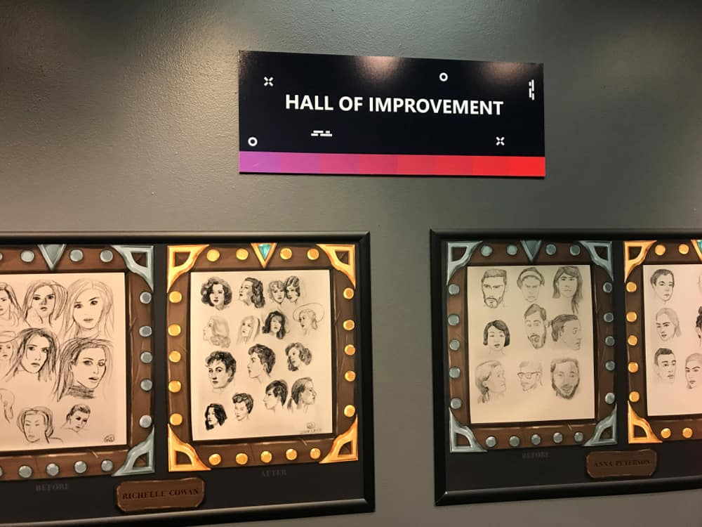 The Drawaholics Hall of Improvement