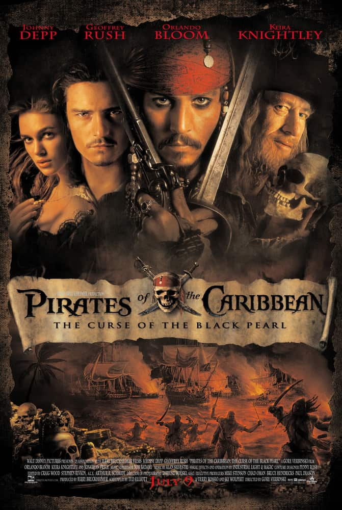Chris Armstrong | Pirates of the Caribbean The Curse of the Black Pearl