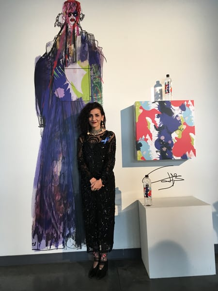 Fashion Grad Ghazaleh Khalifeh Celebrated by CFDA & LIFEWTR