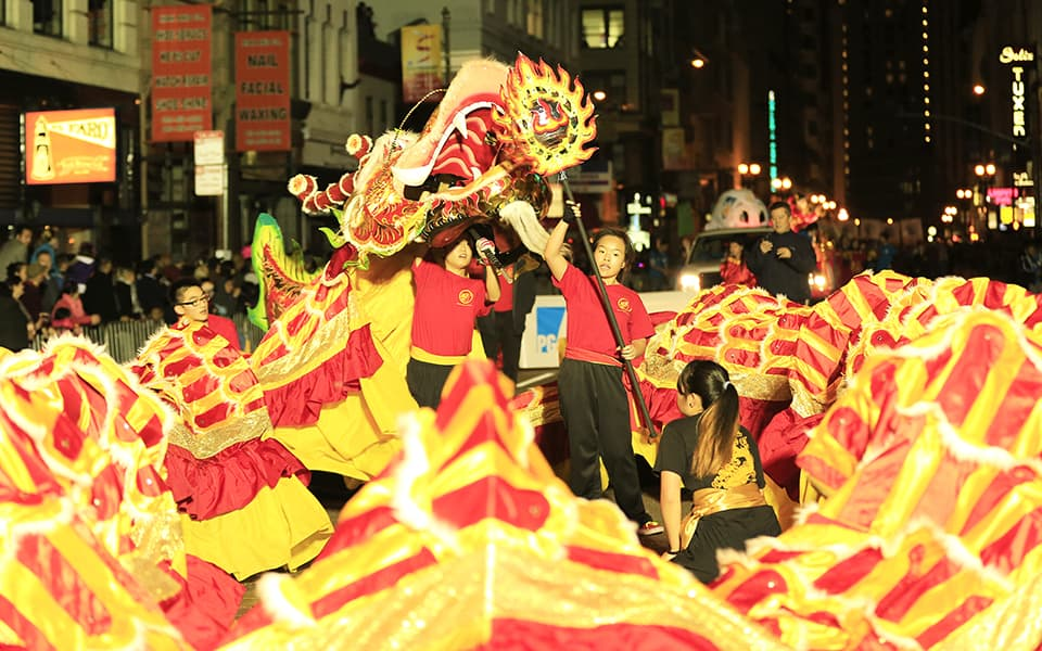History of Chinese New Year Parade