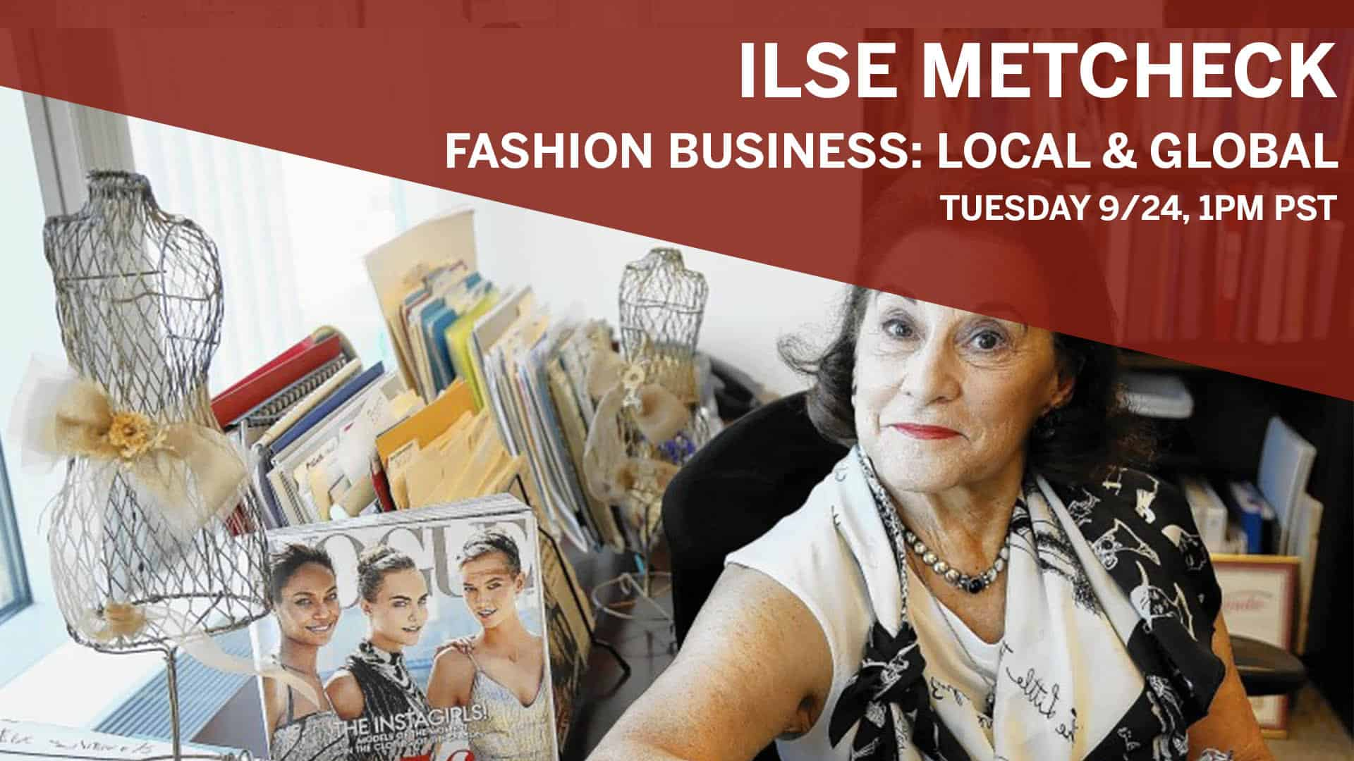 Ilse Metcheck: Fashion Business: Local & Global