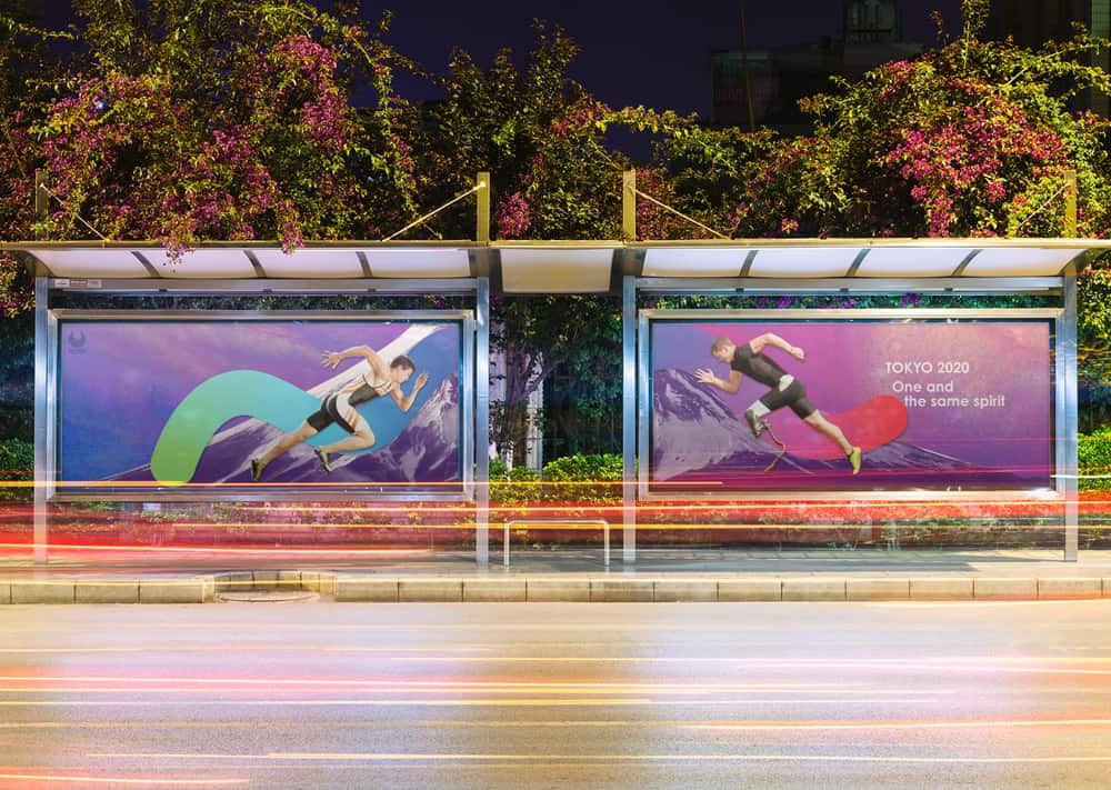 Kuo and Wang's Tokyo 2020 Paralympics campaign portrayed athletes across the spectrum as equals.