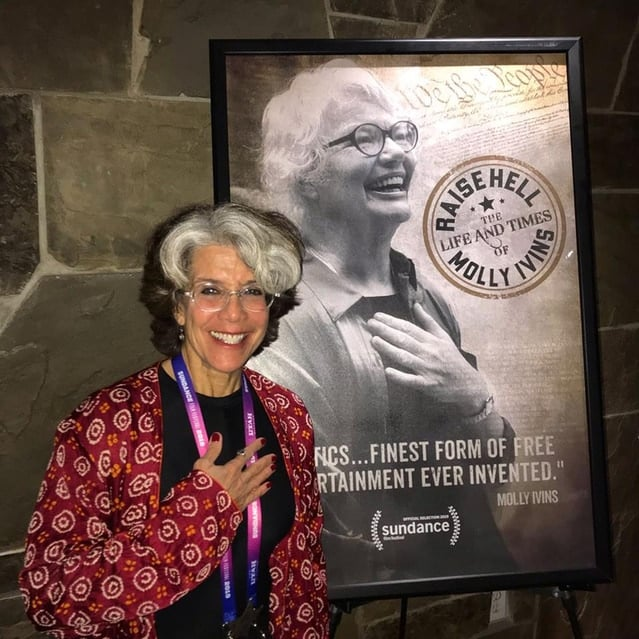 Filmmaker Janice Engel - Raise Hell: The Life & Times of Molly Ivins