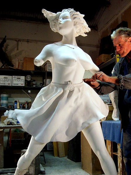 Barry Baldwin Brings a Lifetime of Experience to Sculpture