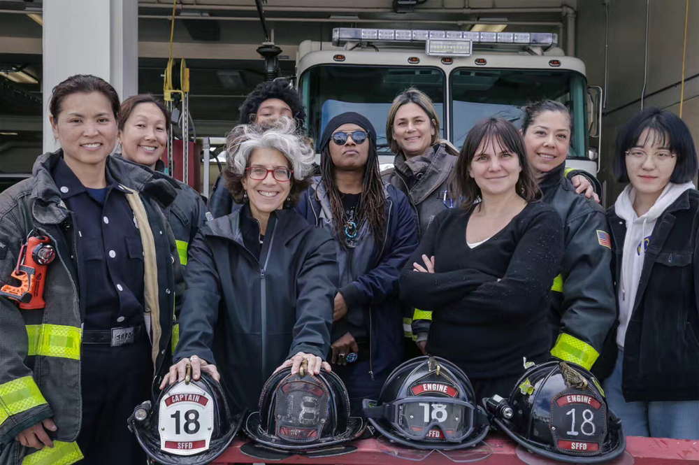 Female firefighters, San Francisco Fire Department