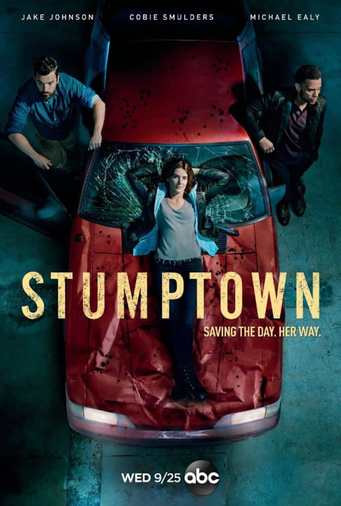 stumptown tv series promo poster