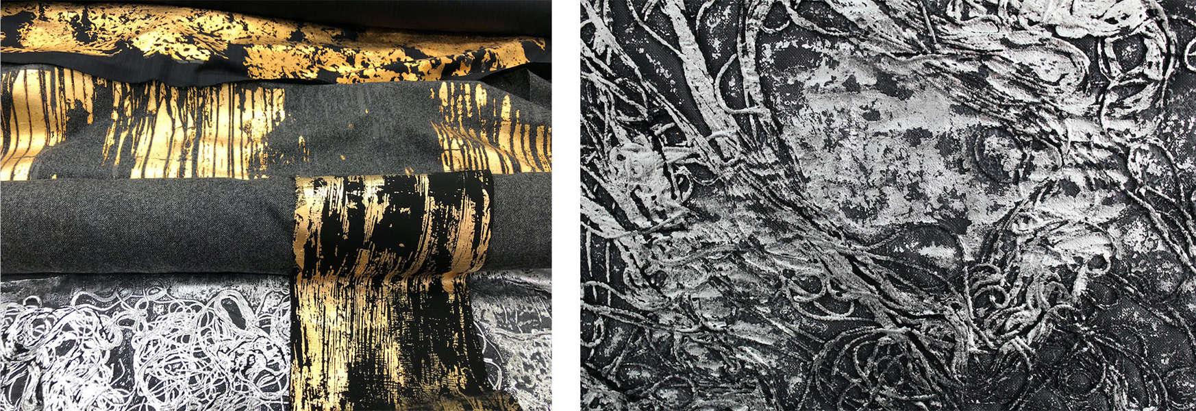 Jorge Iglesias BFA Textile Design Swatches