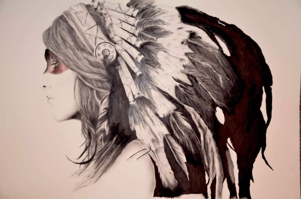 Tim Andrews Illustration Native Hipster