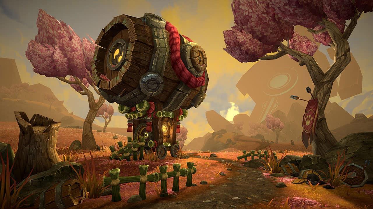 Zhuoyang Liu World of Warcraft Student Art Content Entry